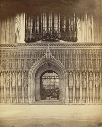 York Minster, The Stone Screen